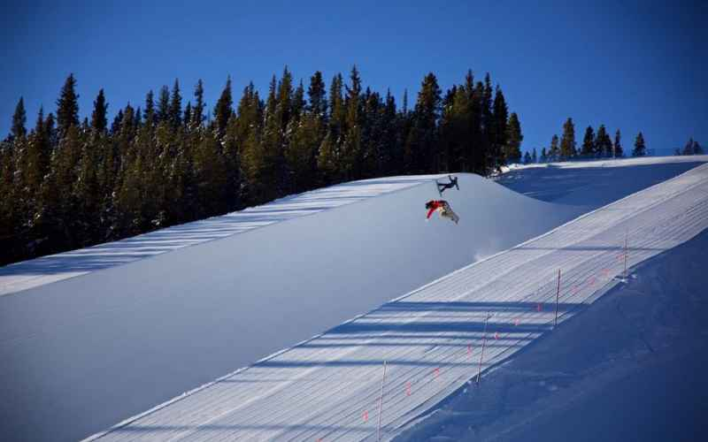 Superpipe on Freeway Terrain Park